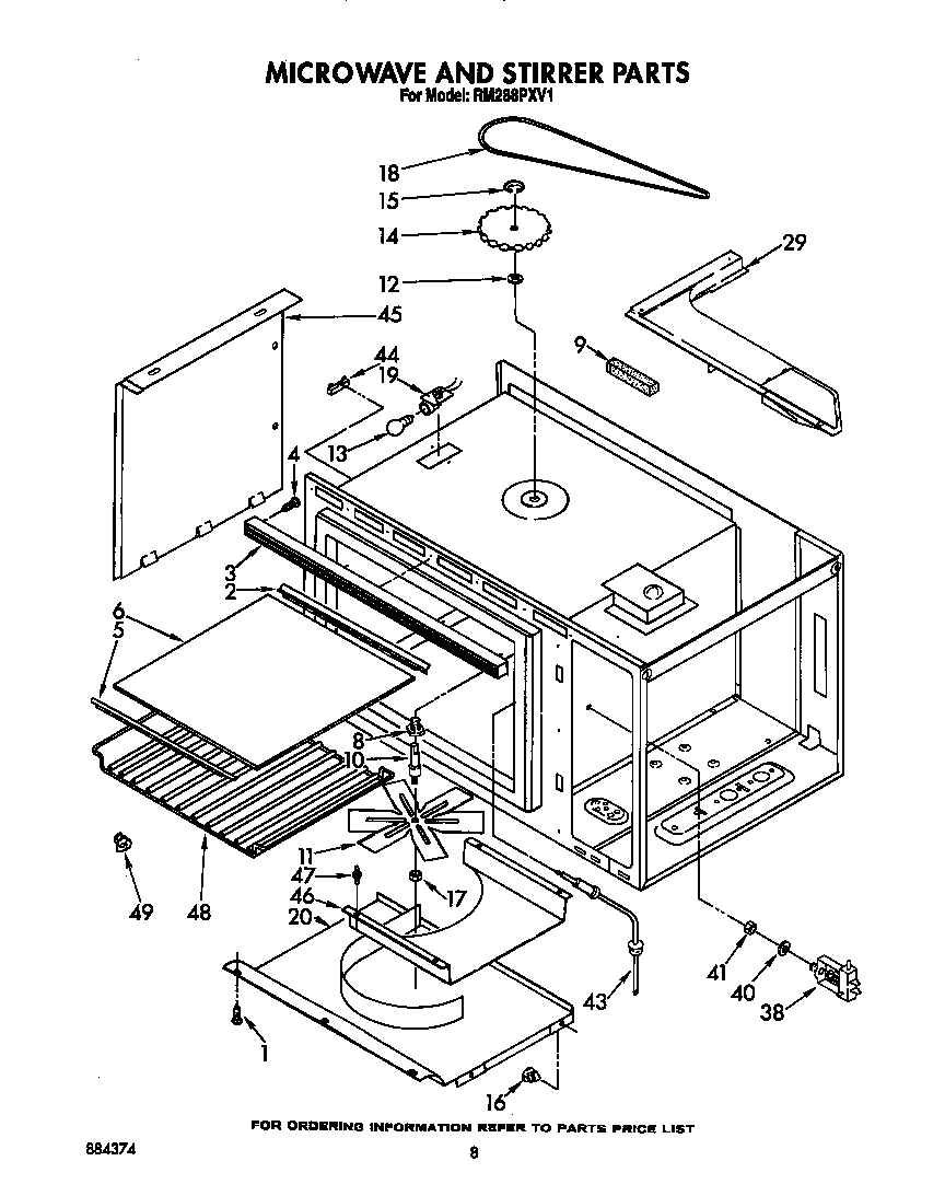 Panasonic Microwave Parts and Accessories  Encompass