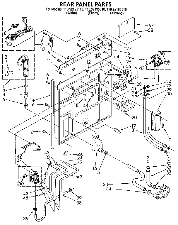 kenmore washer wiring diagram