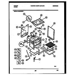 3038602304 Range - Gas Body Parts diagram
