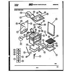 3039912303 Range - Gas Body Parts diagram