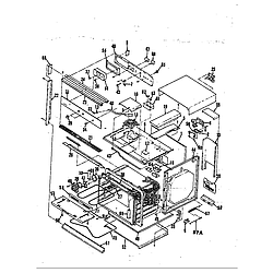 59E5EXW Range Body Parts diagram