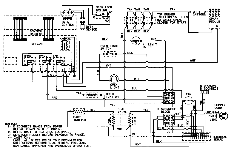 Ge Gas Range Wiring Diagram | Wiring Diagram On Electric Stove Wiring Schematics on