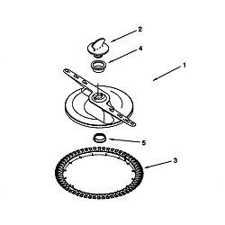 66515982990 Dishwasher Lower washarm and strainer Parts diagram