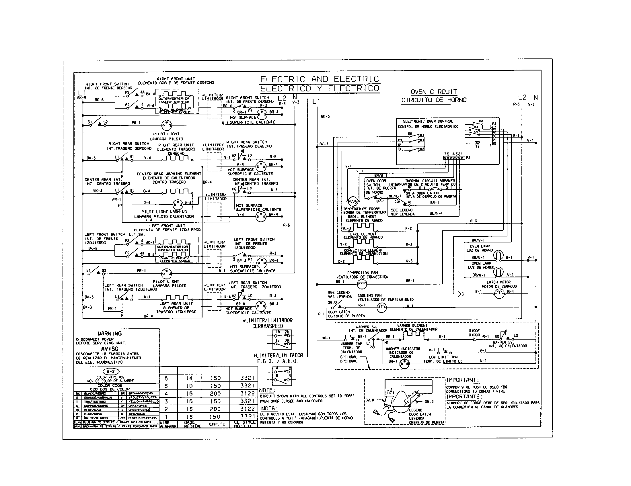 Kenmore Electric Range Wiring Diagram - Diagrams Catalogue on