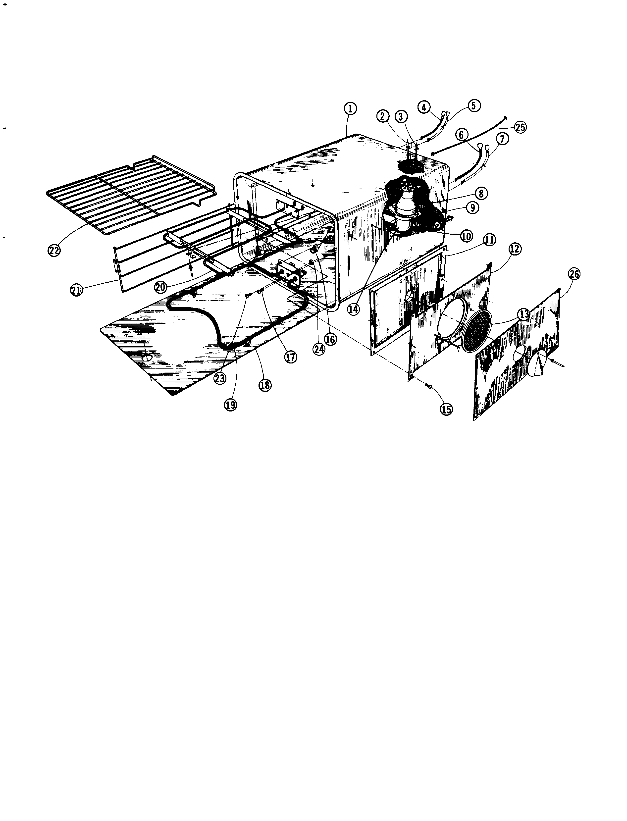 Oven Parts on York Blower Motor Wiring Diagram