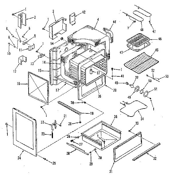 Kenmore Stove Parts Diagram
