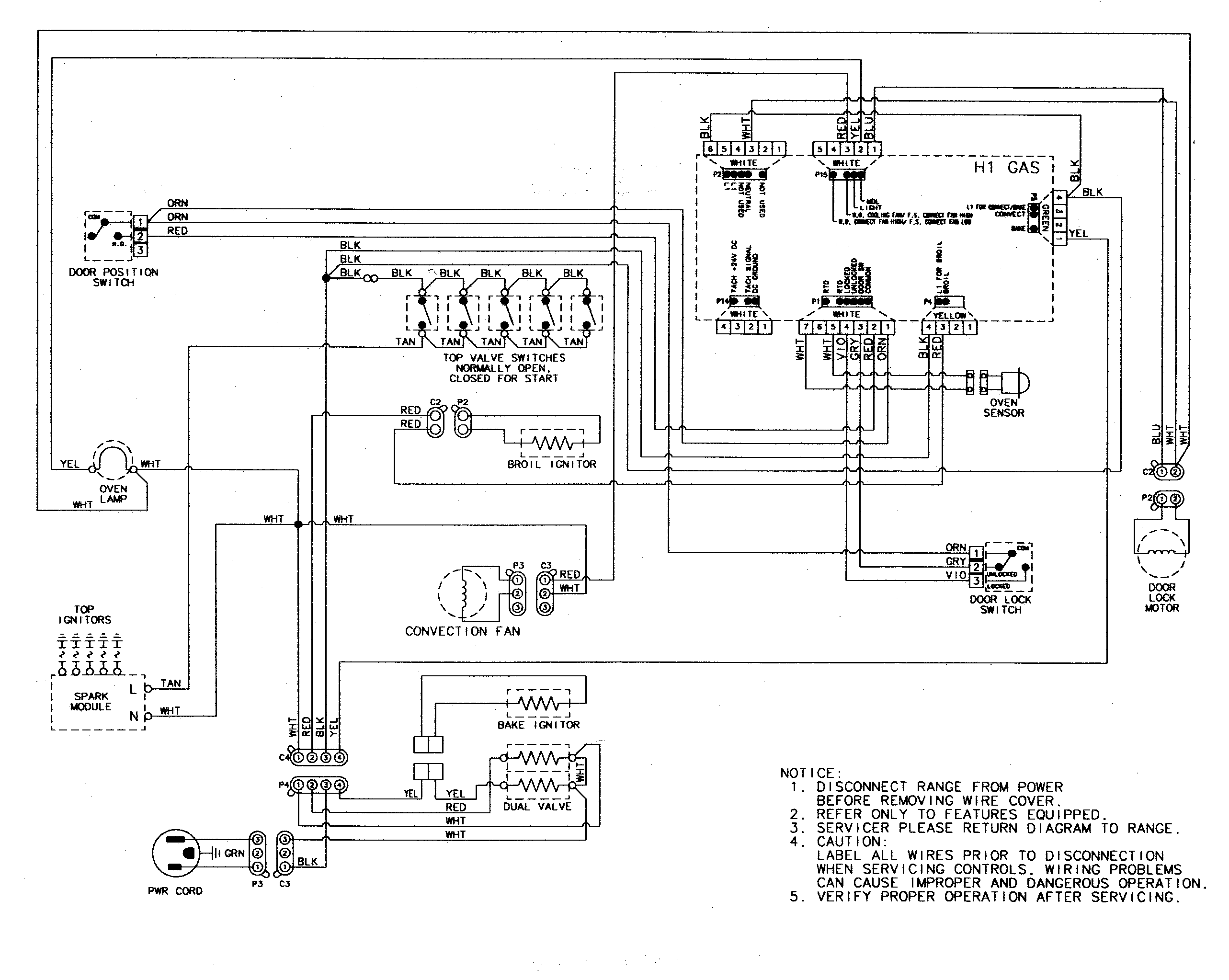 gas oven thermostat wiring diagram enthusiast wiring diagrams u2022 rh  rasalibre co Gas Dryer Diagram Basic