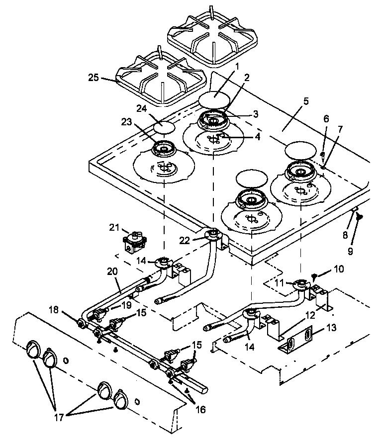 Whirlpool Stove Top Wiring Diagram - Wiring Diagram K5 on