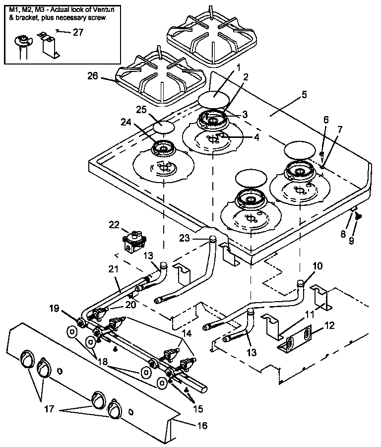 amana ags781ww self cleaning frestanding gas range timer stove Sewing Machine Diagram ags781ww self cleaning frestanding gas range main top assy parts diagram