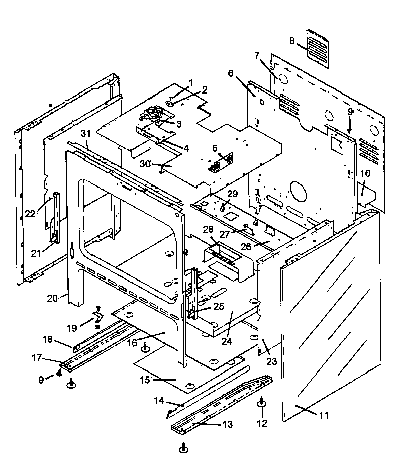 Frigidaire Schematic Diagram