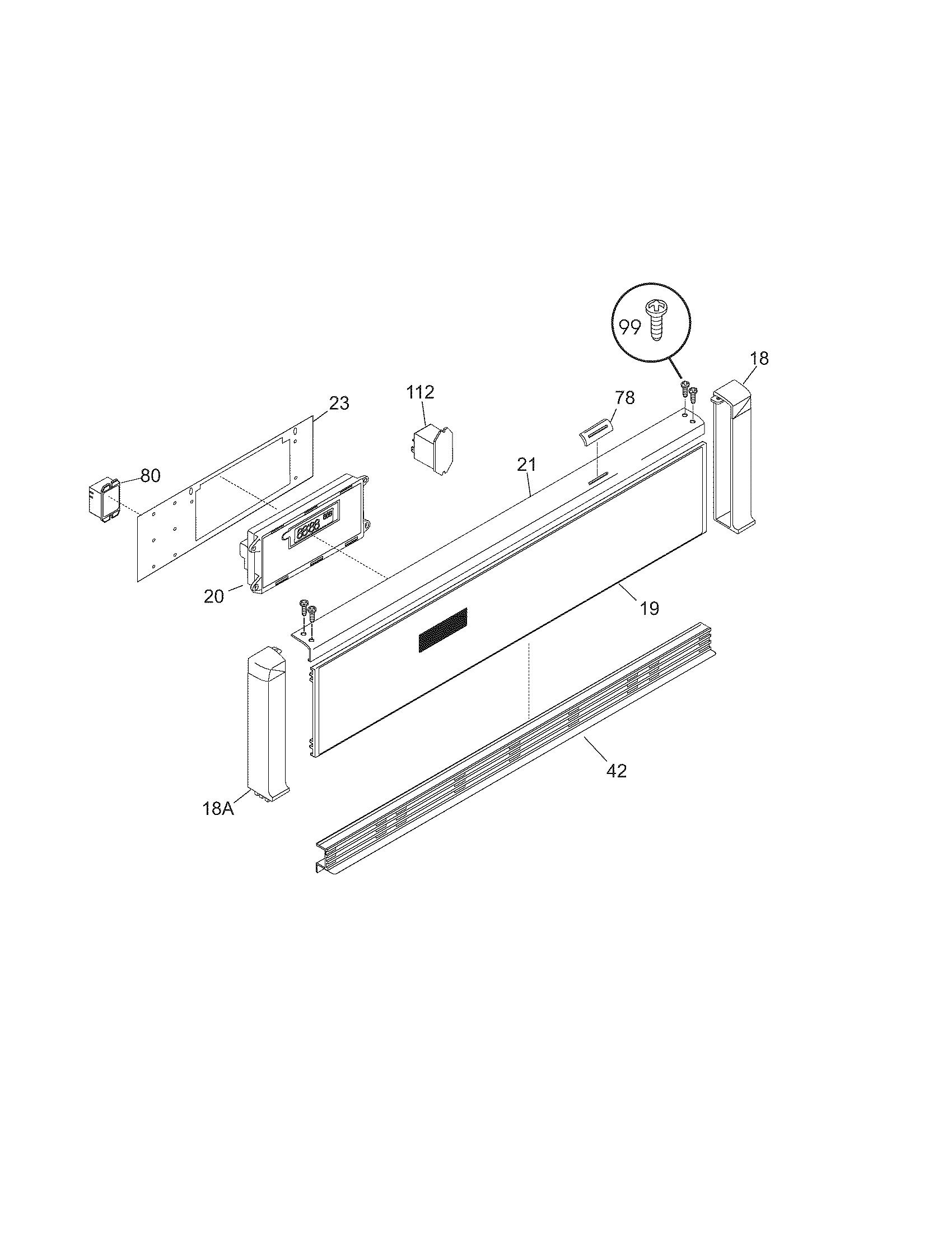 cgeb27s7cs1 electric walloven control panel parts diagram