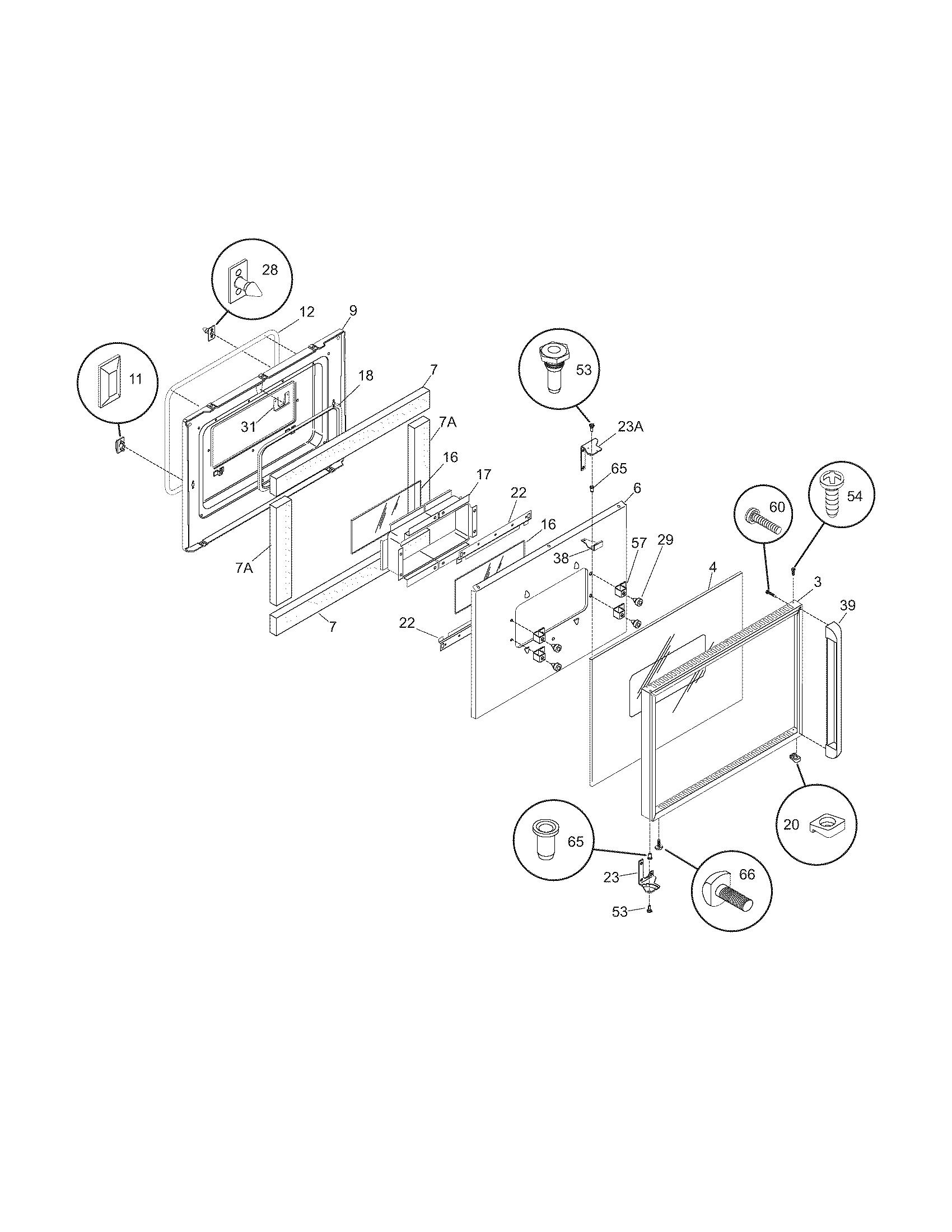 cgeb27s7cs1 electric walloven door parts diagram  wiring diagram parts  diagram