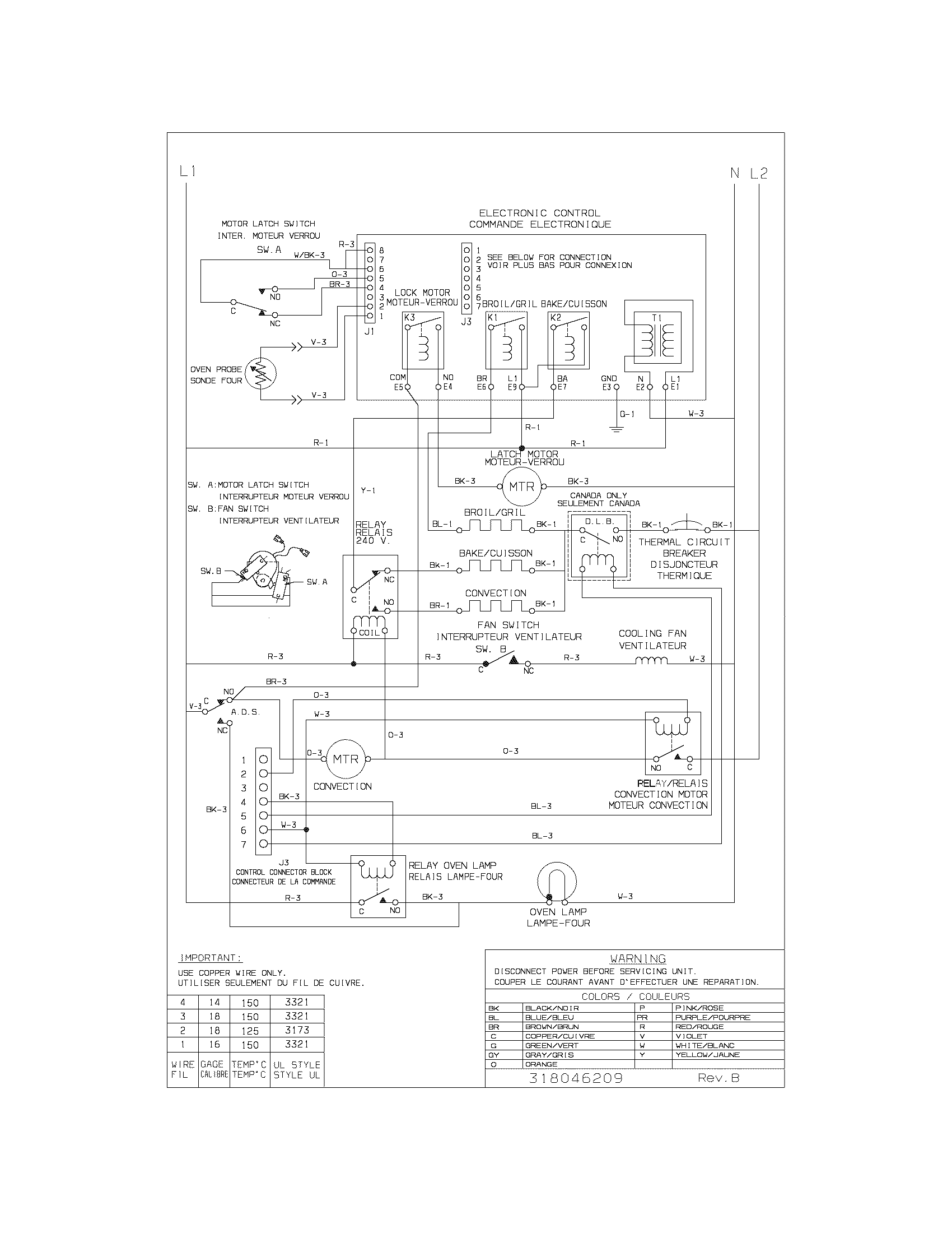wiring diagram parts frigidaire cgeb27s7cs1 electric walloven timer stove clocks and frigidaire wiring diagram at honlapkeszites.co