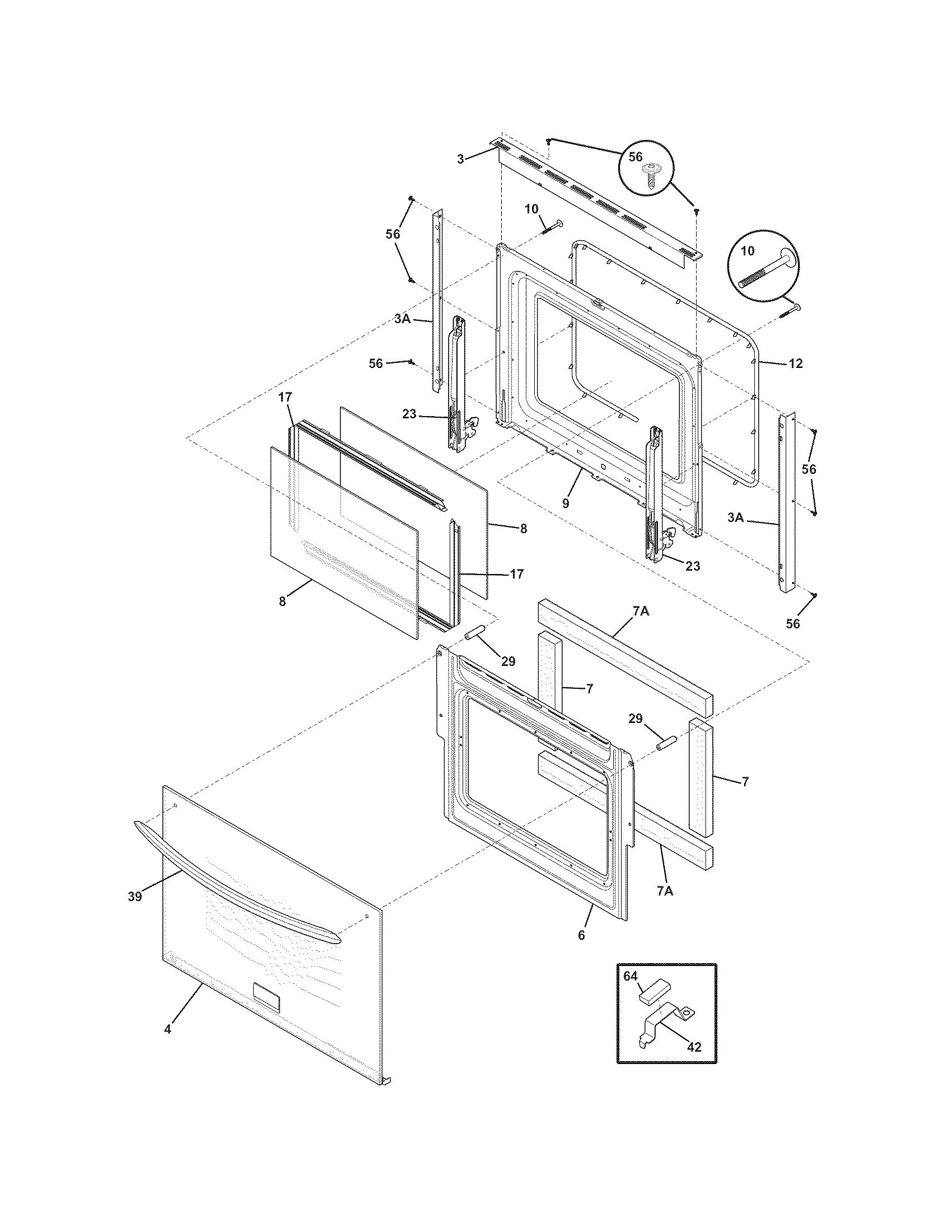 Frigidaire Cges387cs1 Electric Range Timer
