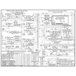 CPES389CC2 Range Wiring diagram Parts diagram