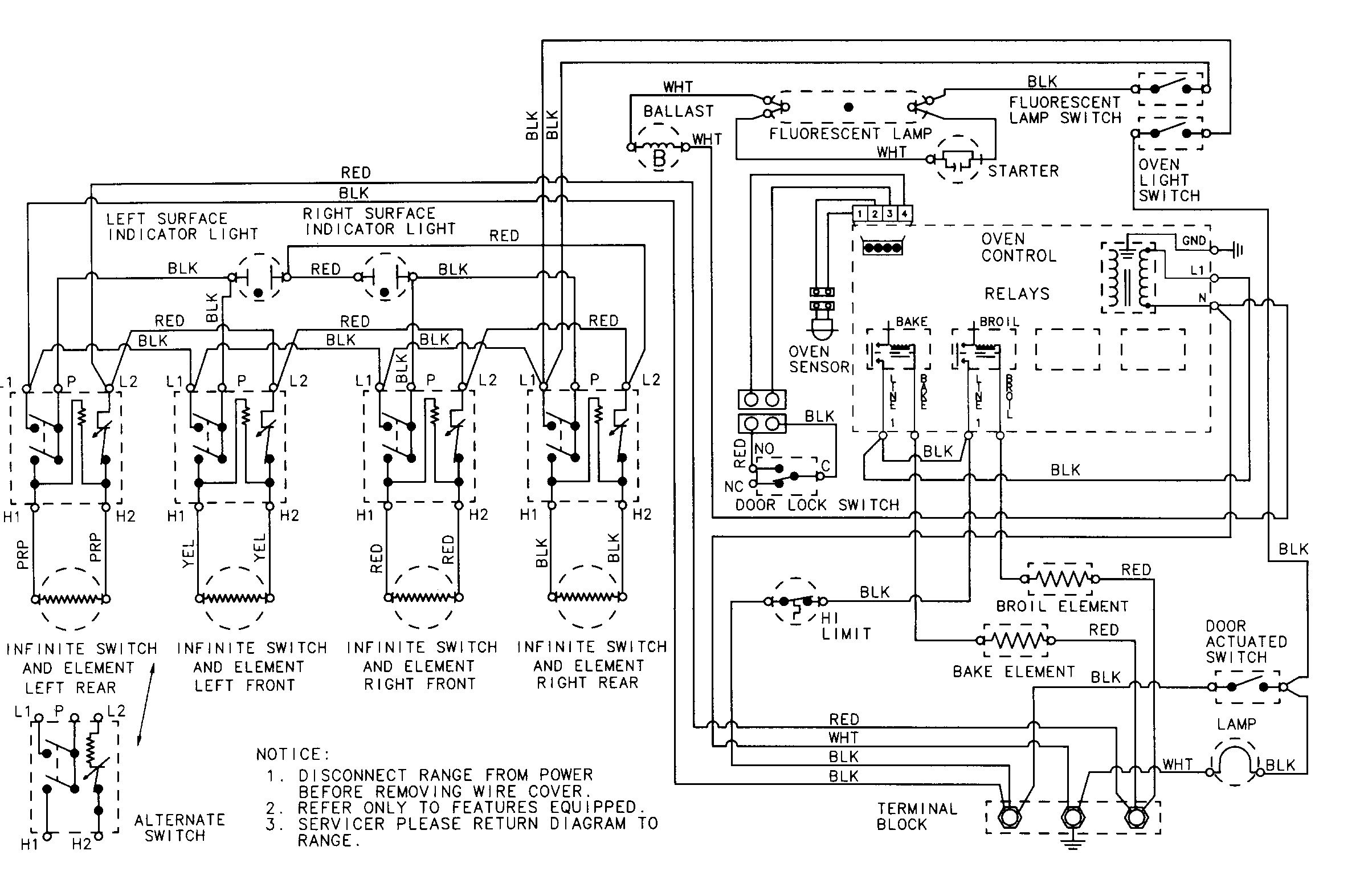 Stove Top Wiring Diagram | Wiring Diagram on