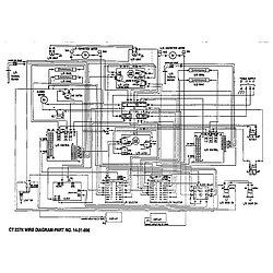 CT227N Electric Wall Oven Wiring Parts diagram