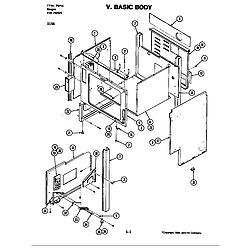 D156W Range Body (d156) Parts diagram