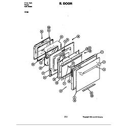 D156W Range Door (d156) Parts diagram