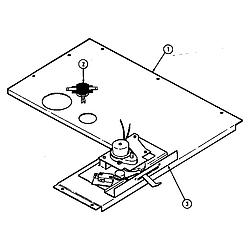 D156W Range Internal controls (d156b & d156w) (d156b) (d156w) Parts diagram