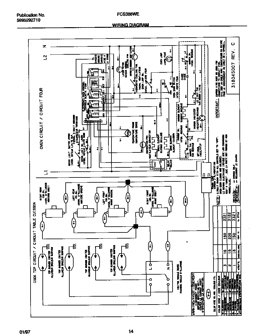 Frigidaire fcs388weca dual fuel range timer stove clocks and fcs388weca dual fuel range wiring diagram parts diagram ccuart Choice Image