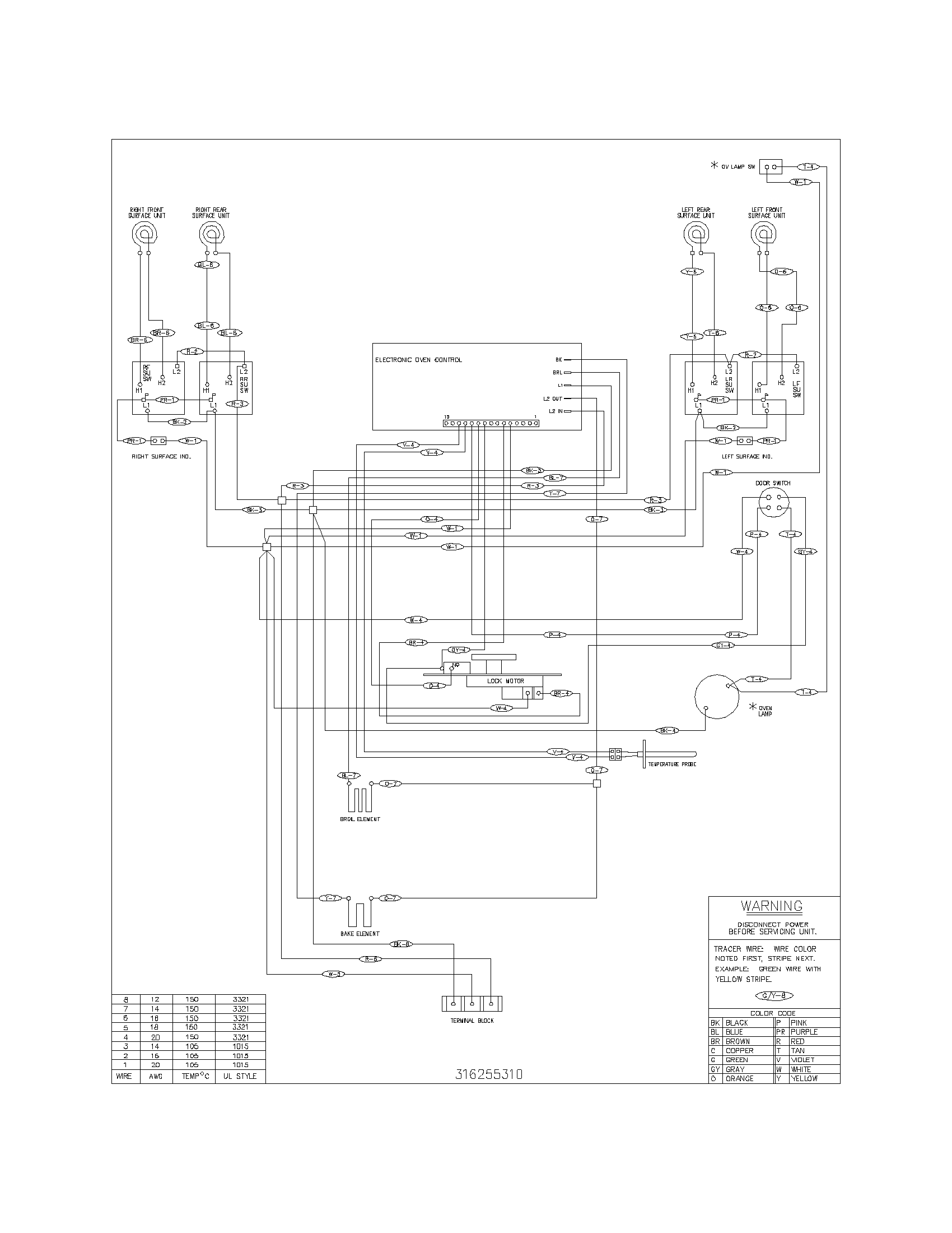 electric range wiring diagram   29 wiring diagram images