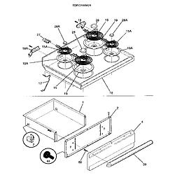 wh40 wiring diagram frigidaire fef352bada electric range timer - stove clocks ... noro 32711502 3 phase ac motor wiring diagram