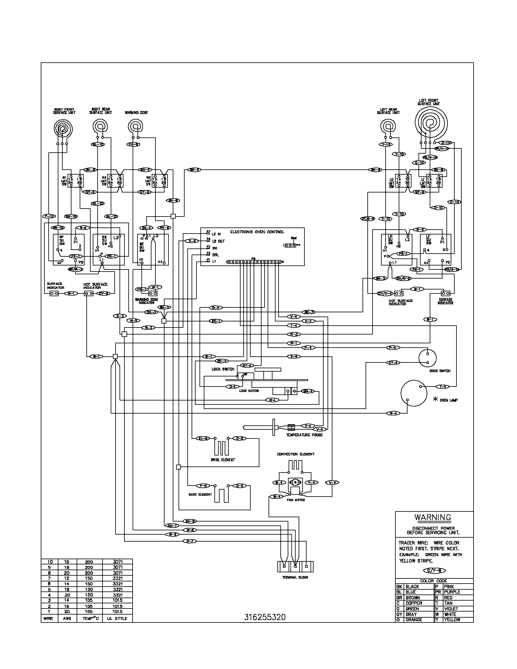 Kitchen Stove Wiring Diagram - Touch Wiring Diagrams
