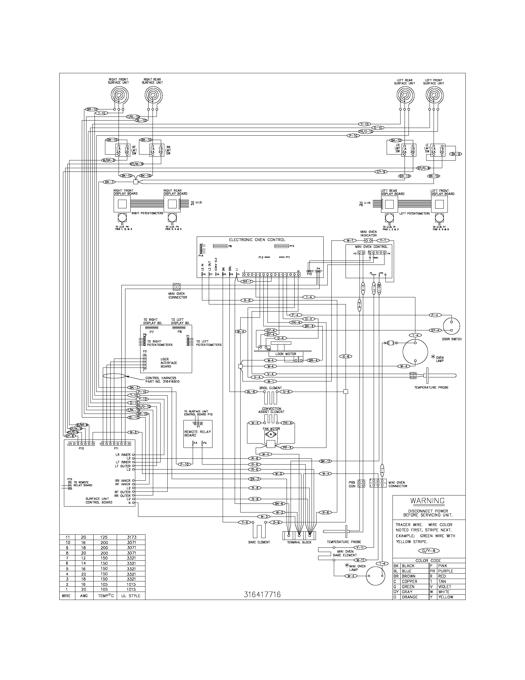 wiring diagram parts frigidaire glefm397dsb electric range timer stove clocks and odes wiring diagram at edmiracle.co