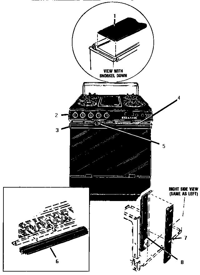 thermador gsc30cvb gas range timer stove clocks and. Black Bedroom Furniture Sets. Home Design Ideas