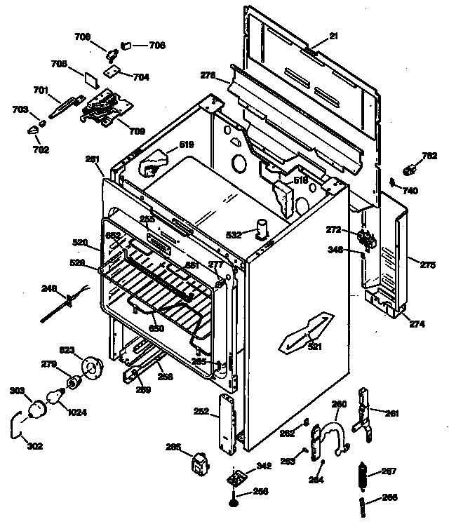 Appliance Parts Schematics