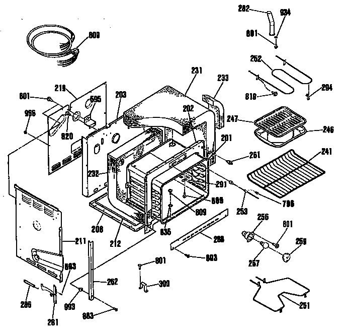 Ge Electric Stove Schematics Product Wiring Diagrams