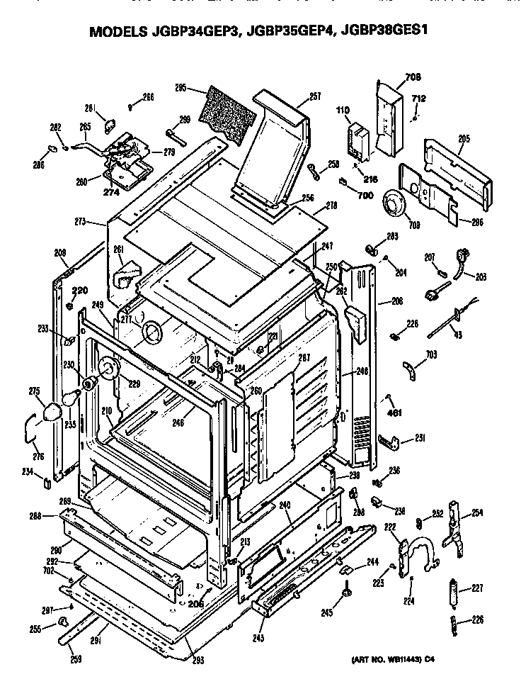 wiring diagram for ge cafe stove