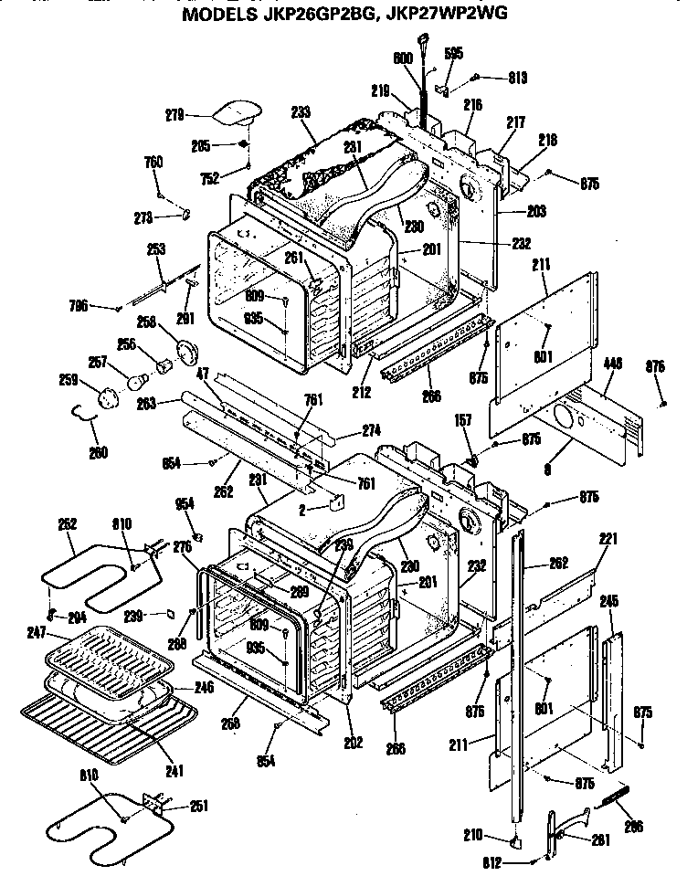Stove Schematic Wire Diagram 2