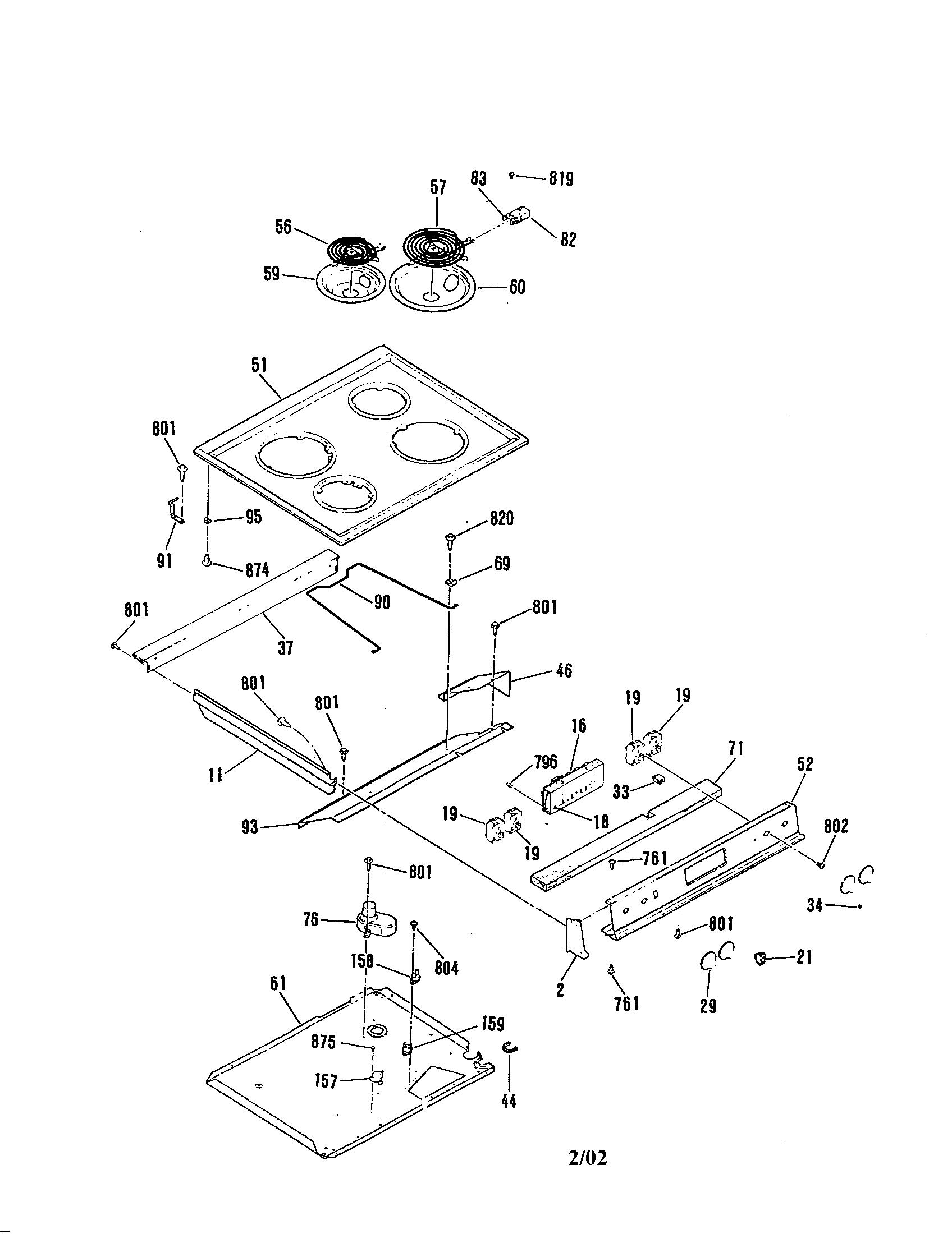 Ge Oven Wiring Diagram Jdp37 Manual E Books Jbp79sod1ss General Electric Jsp28gp Range Timer Stove Clocks And Appliance Timersjsp28gp Maintop Parts