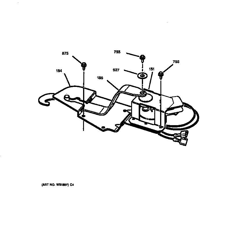 jtp18 electric oven door lock parts diagram