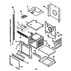 KEBI276DWH6 Oven Oven Parts diagram