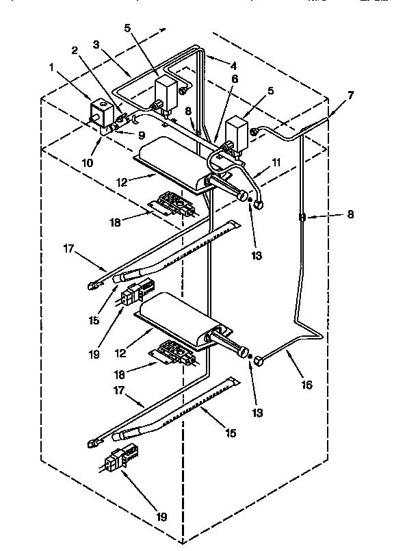 Timer Wiring Diagram Also Kitchenaid Refrigerator Wiring Diagram