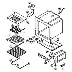 L3878VYV Range Oven/base Parts diagram