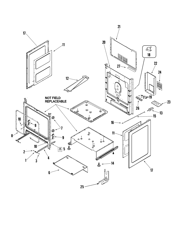 maytag mer5875qcb timer stove clocks and appliance timers Cabinet Hardware Hinges Gun Cabinet Diagram