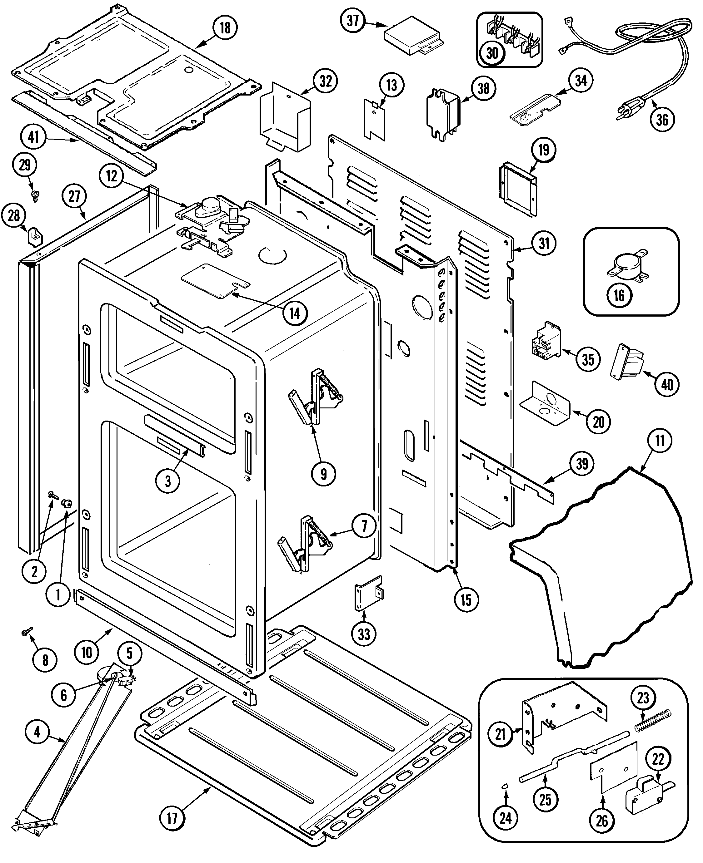Maytag Mer6772bcw Range Timer Stove Clocks And Appliance Timers Wiring Diagram Smeg Oven Body Parts