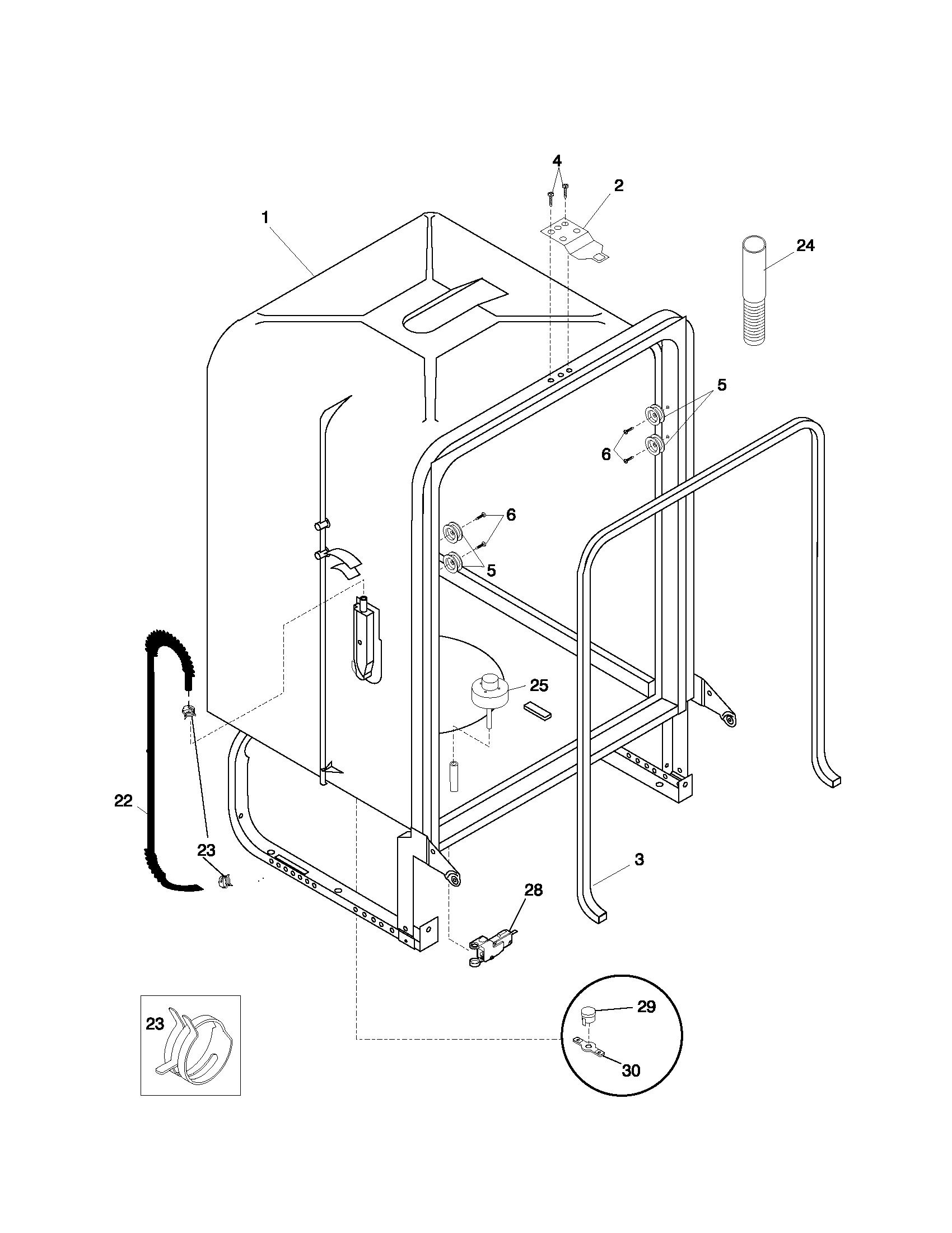 Frigidaire Dishwasher Schematic Diagram Trusted Wiring Diagram \u2022  Frigidaire Dishwasher Door Schematic Frigidaire Ultra Quiet Dishwasher  Wiring Diagram