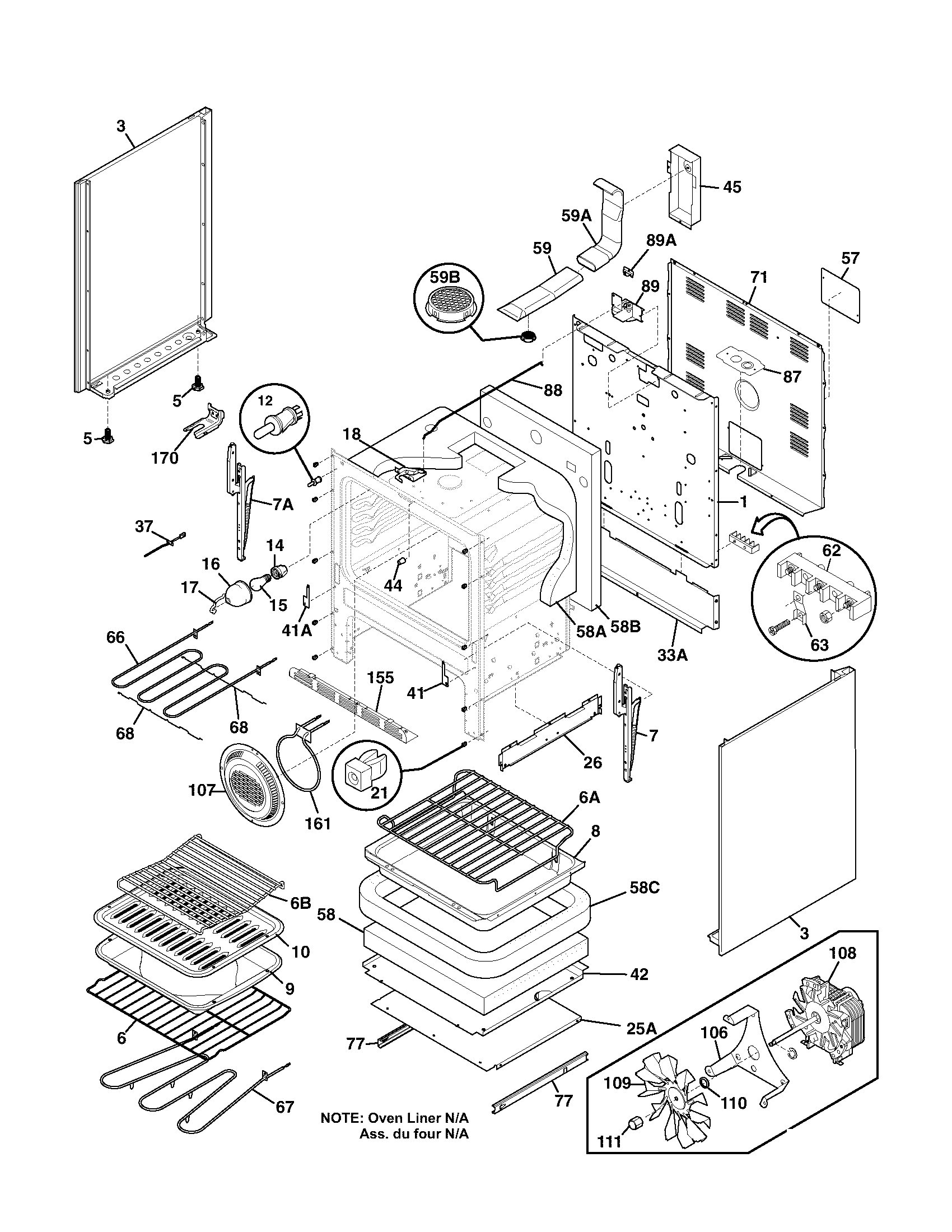 body parts frigidaire plef398ccc electric range timer stove clocks and Wiring Diagram for Miller Electric Furnace at aneh.co