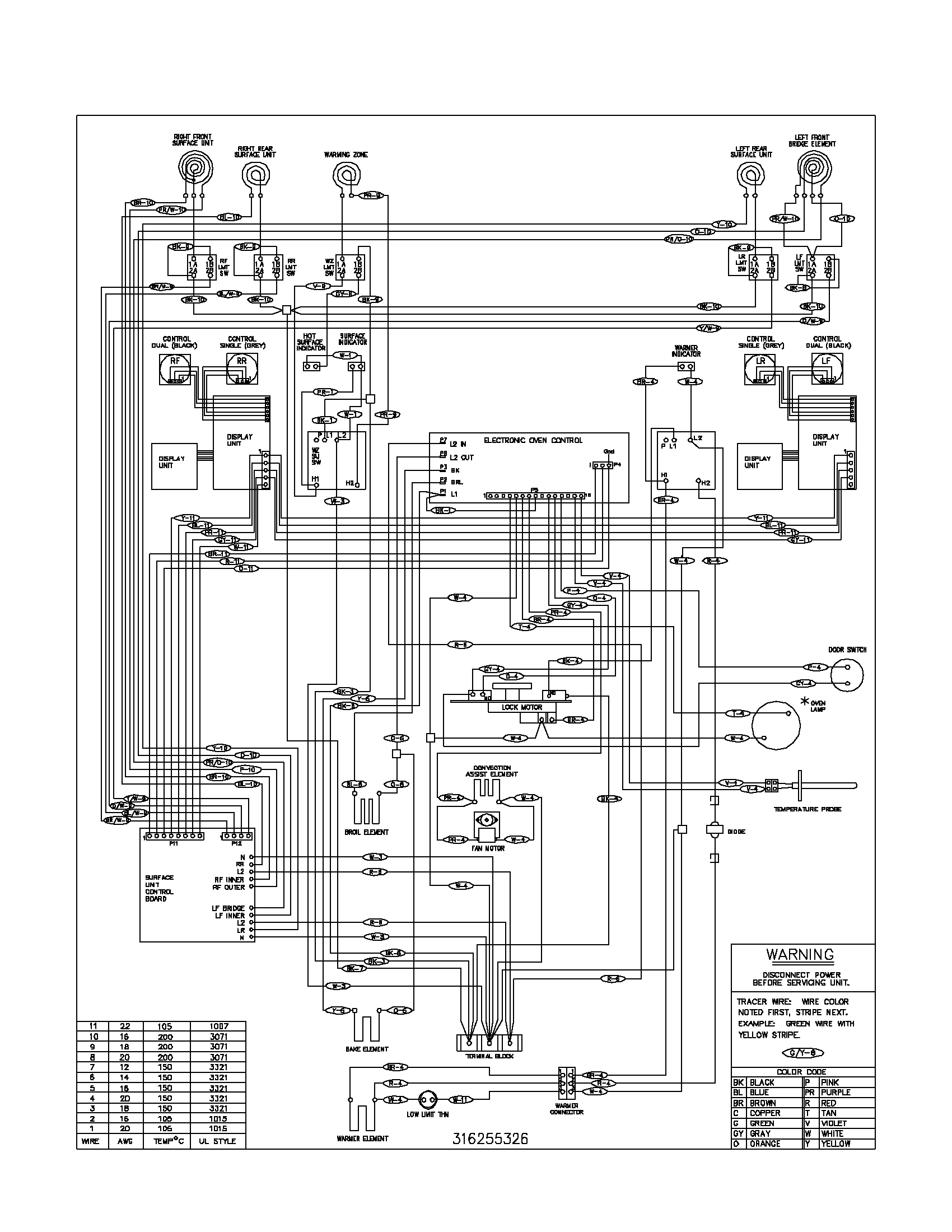 plef398ccc electric range wiring diagram parts diagram