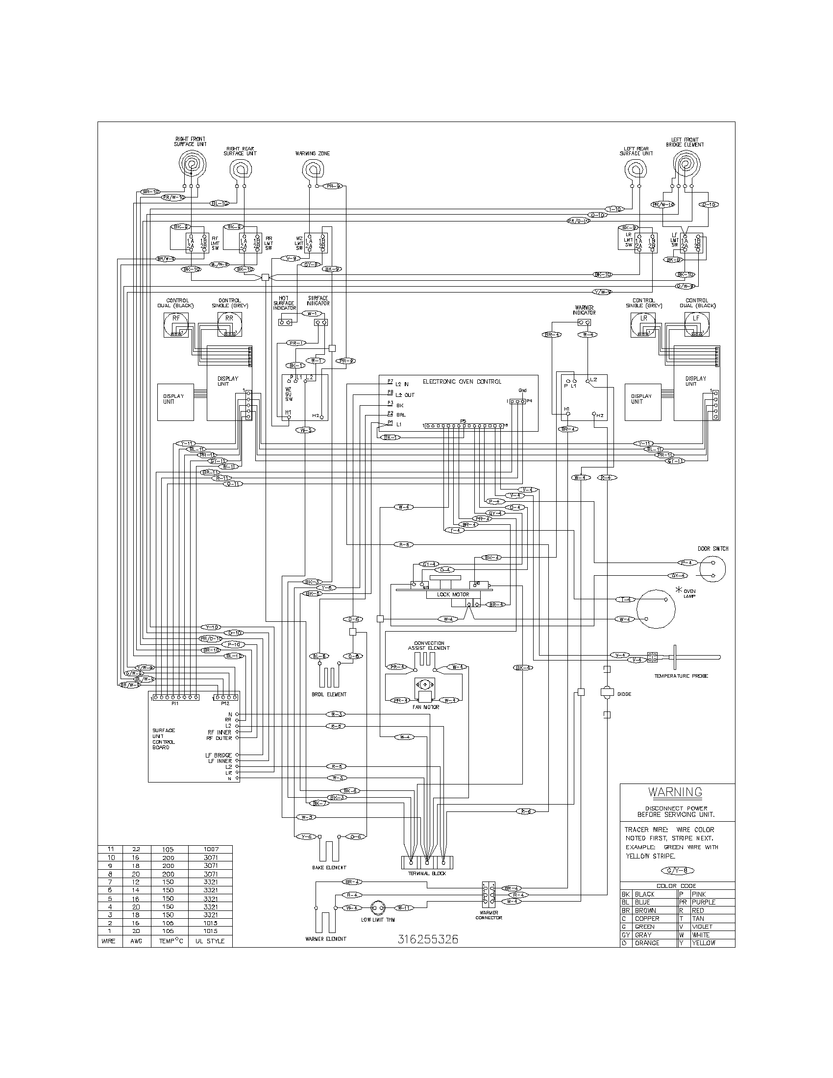 Wiring Diagram For Frigidaire Stove - WIRE Center •