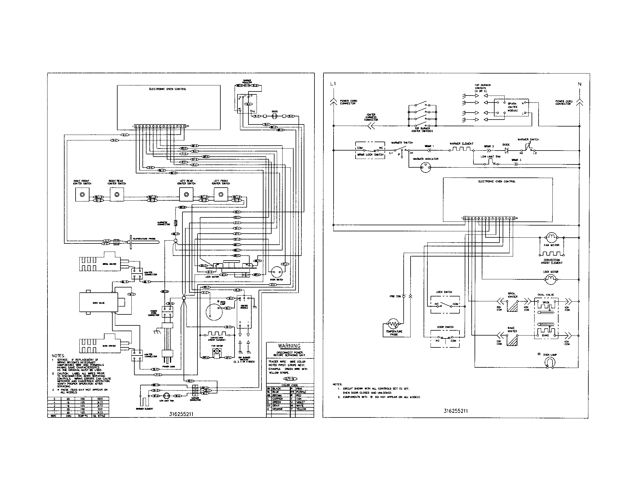 Frigidaire Electric Oven Wiring Diagram ~ Wiring Diagram Portal ~ \u2022  Frigidaire Oven Diagram Diagram Of Frigidaire Model Older