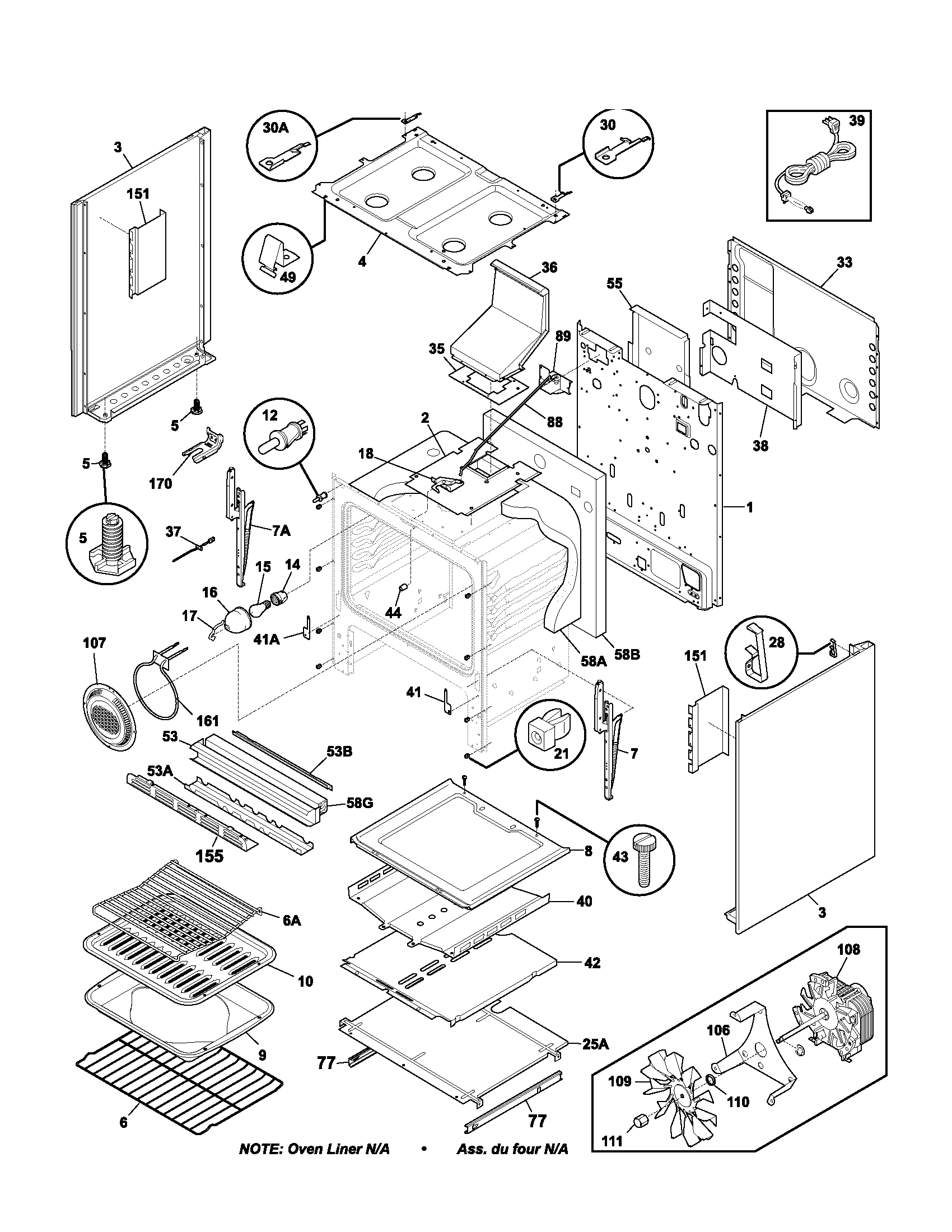 body parts frigidaire plgf389ccb gas range timer stove clocks and appliance frigidaire freezer wiring diagram at n-0.co