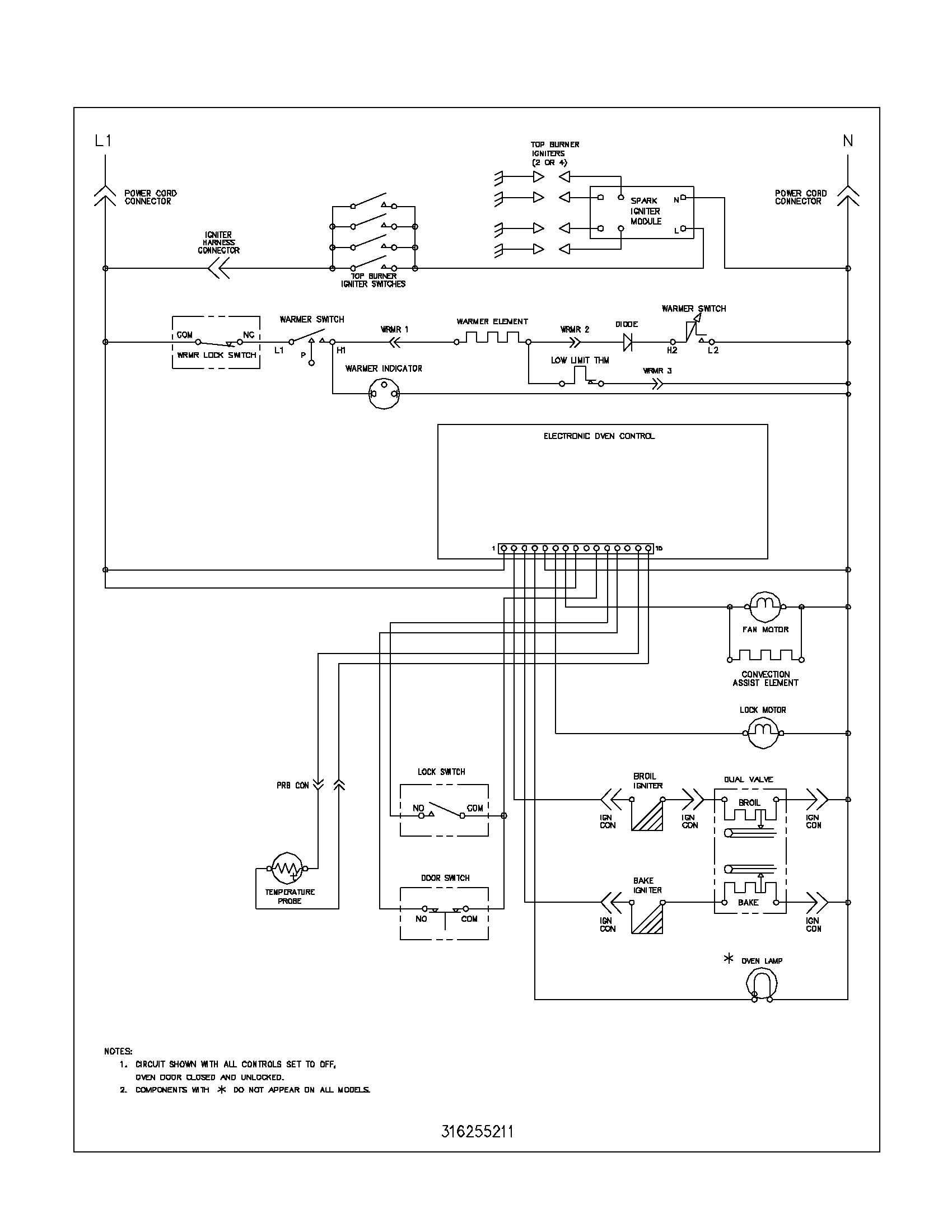 Wiring Diagram For Frigidaire Dryer – The Wiring Diagram ...