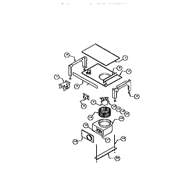 RDDS30 Range Base assembly Parts diagram