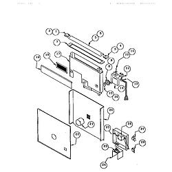 RDDS30 Range Snorkel assembly Parts diagram
